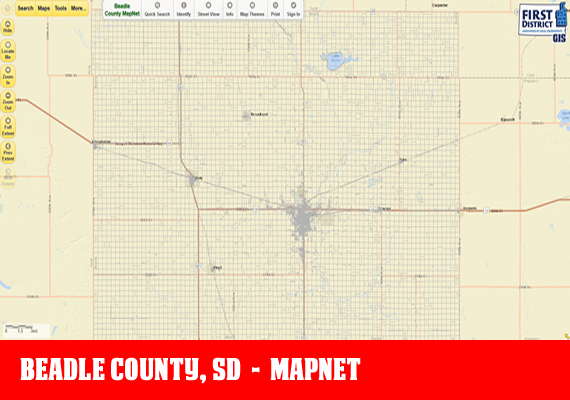 Beadle MapNet - The official mapping application for Beadle County, SD
