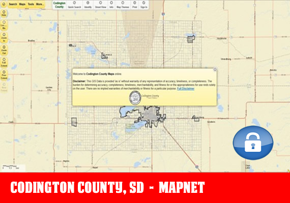Codington MapNet - The official mapping application for Codington County, SD