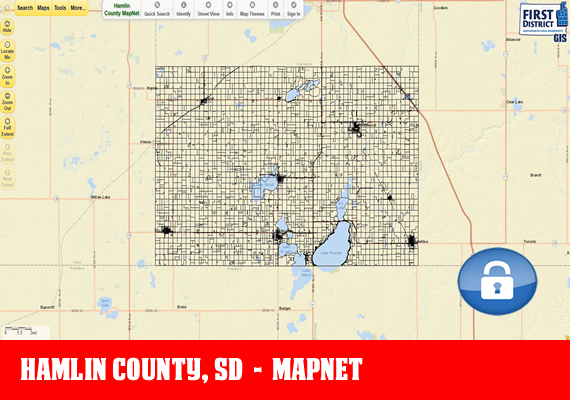 Hamlin MapNet - The official mapping application for Hamlin County, SD