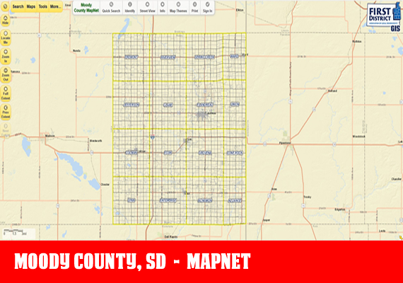 Moody MapNet - The official mapping application for Moody County, SD