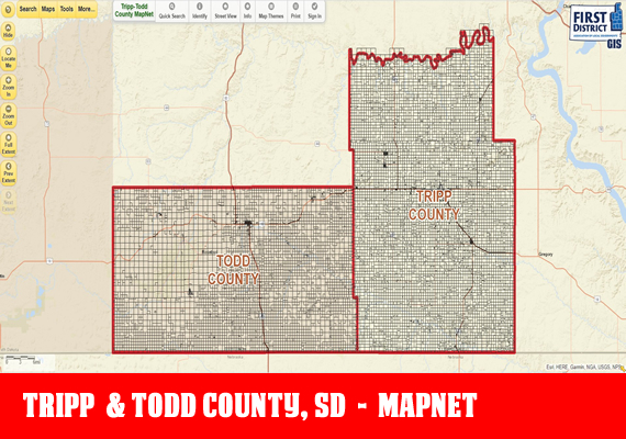 Tripp MapNet - The official mapping application for Tripp County, SD